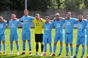 Corby Town's new-look team step out at Steel Park for the first time this season tonight. Picture by David Tilley
