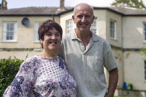 Tanya and Roy Murphy at the Old Rectory.