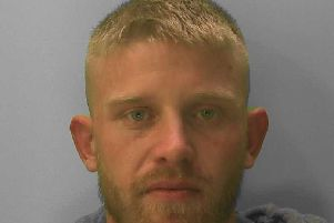Alex Quinn is wanted after failing to appear at court. Picture: Sussex Police