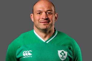Rory Best will captain Ireland at the Rugby World Cup in Japan. Pic by INPHO.