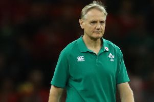 Ireland head coach Joe Schmidt. Pic by INPHO.