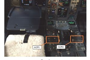 "Undated handout photo issued by the Air Accident Investigation Bureau (AAIB) of the console from the cockpit of a Airbus A330 showing the Audio Control Panels (ACPs) which were damaged when a pilot spilt coffee from a cup on his tray table during a flight from Frankfurt, Germany to Cancun, Mexico on February 6. The spillage created ""significant communication difficulty"" for the pilots flying the Condor aircraft, causing it to be diverted to Shannon. PA Photo. Issue date: Monday August 12, 2019"