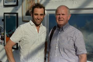 Current head of art, Tom Christy and John Childs