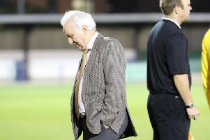 Jack Pearce has been talking about Bognor's poor start - and responding to fans' claims he should no longer be manager