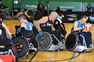 The Barbarian Wheelchair Rugby Blitz will take place at the Antrim Forum on Saturday and Sunday