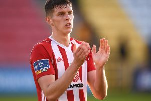Derry City's Eoin Toal.
