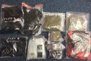 Drugs found by PSNI in Lurgan