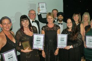 The Melton Bid-sponsored Customer Focus award went to the Sophie-Elise Beauty Boutique at our awards night in 2018 EMN-190926-104319001