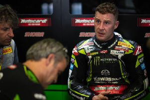 Jonathan Rea is in the driving seat for a record fifth World Superbike title as the Northern Ireland star prepares for this weekend's 11th round of the championship at Magny-Cours in France. Picture: Graeme Brown.