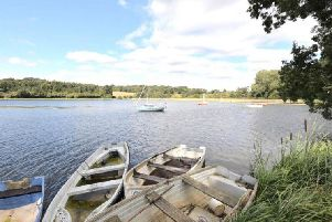 The tranquil spot is just four miles from Kettering