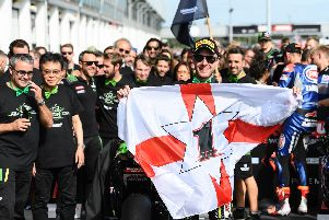 Jonathan Rea won the World Superbike title for a record-breaking fifth time on Sunday at Magny-Cours in France.