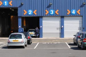 The planned new MOT centre will be able to handle more than 90,000 tests annually