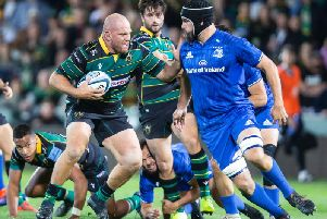 Ben Franks has made the move to loosehead (picture: Kirsty Edmonds)