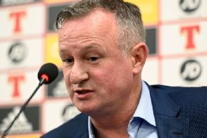Michael O'Neill announces his squad for the UEFA EURO 2020 qualifier against Netherlands in Rotterdam