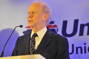 The former Ulster Unionist Party leader Reg Empey, who is a peer. Pic Mark Marlow/pacemaker press