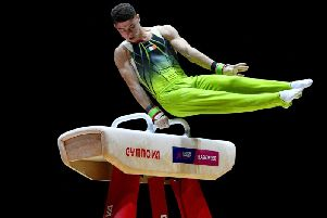 Rhys McClenaghan has secured his place at the 2020 Olympic Games