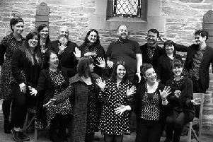 Inishowen Gospel Choir at The Playhouse on Saturday, October 12
