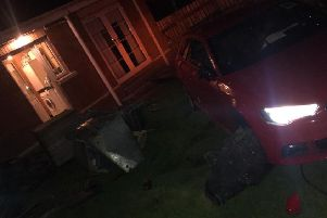 Car crashed into home in Craigavon