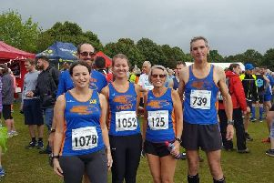 Tone Zone Runners at Barns Green