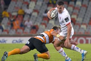Ulster centre James Hume.