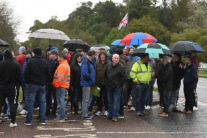 Wrightbus workers wait for news