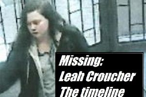 Missing Leah Croucher, the timeline