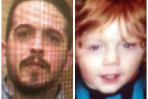 Convicted child killer, Liam Whoriskey and little three year-old toddler, Kayden McGuinness.