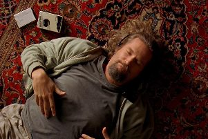 The Big Lebowski leads a life of relative inactivity