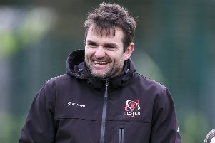 Ulster defence coach Jared Payne. Pic by John Dickson.