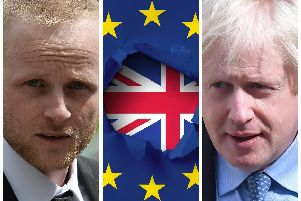 Jamie Bryson is taking Boris Johnson to court over Brexit - here's why