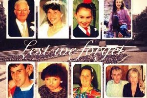 Victims of Shankill bomb
