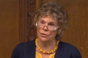 Kate Hoey, the Ulster-born Labour MP for Vauxhall. Screengrab from Parliament TV