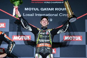 World Superbike champion Jonathan Rea won all three races at the final round in Qatar to end the season with 17 victories.