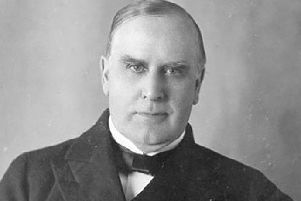William McKinley, 25th President of the United States.