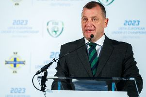 File picture of IFA Chief Executive Patrick Nelson'.