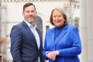 Belfast based Willis Insurance and Risk Management has recruited Dianne Gibson as a Hospital Liaison Advisor to specifically service the growing customer base of private medical clients. Pictured is Dianne Gibson with Director Colin Willis.
