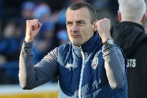 Coleraine boss Oran Kearney. Pic by Pacemaker.