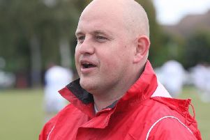 East Preston manager Jon Tucker. Picture by Derek Martin