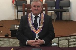 James Anderson is Imperial Grand Master of the Independent Loyal Orange Institution