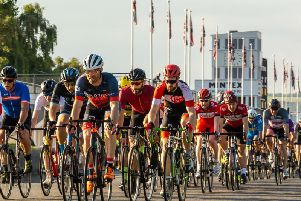 Goodwood motor circuit is a popular spot for cycling