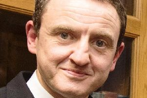 Professor Colin Harvey will give evidence today in Dublin on extending Presidential voting rights outside of the Republic of Ireland. Photo: Inpresspics.com.