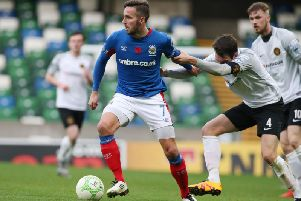 Andrew Waterworth is looking forward to the test against Dundalk