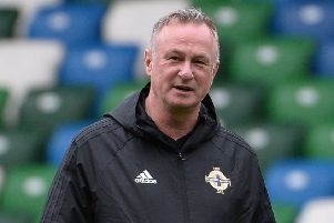 Northern Ireland manager Michael O'Neill. Pic by Pacemaker.