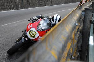 William Dunlop on the Wilson Craig Racing Honda at the Macau Grand Prix in 2011. Picture: Stephen Davison/Pacemaker Press.