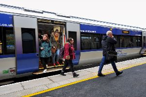 Translink says there is disruption for train passengers this morning, with knock on delays.