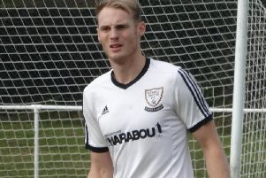 Drew Greenall scored two for Bexhill United in the defeat.