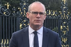Irish Foreign Minister Simon Coveney has agreed to meet the Sproule family from Castlederg: Photo: Rebecca Black/PA Wire