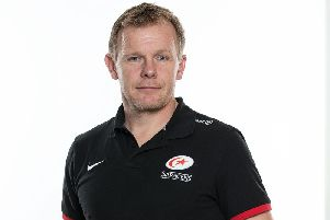 Saracens director of rugby Mark McCall