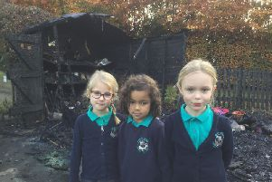 Henry Hinde pupils have been left upset over the loss of their play equipment.