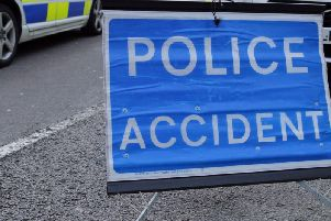 Police are dealing with an accident on the A45